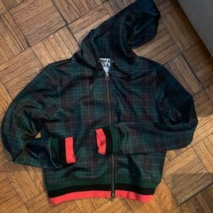 PAM & GELA plaid zip-up